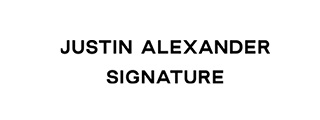 Logo Justin Alexander / Brand-Moden in Leidersbach