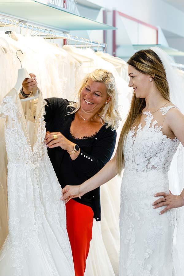 Beratung im Hochzeitshaus Brand-Moden in Leidersbach bei Frankfurt und Würzburg