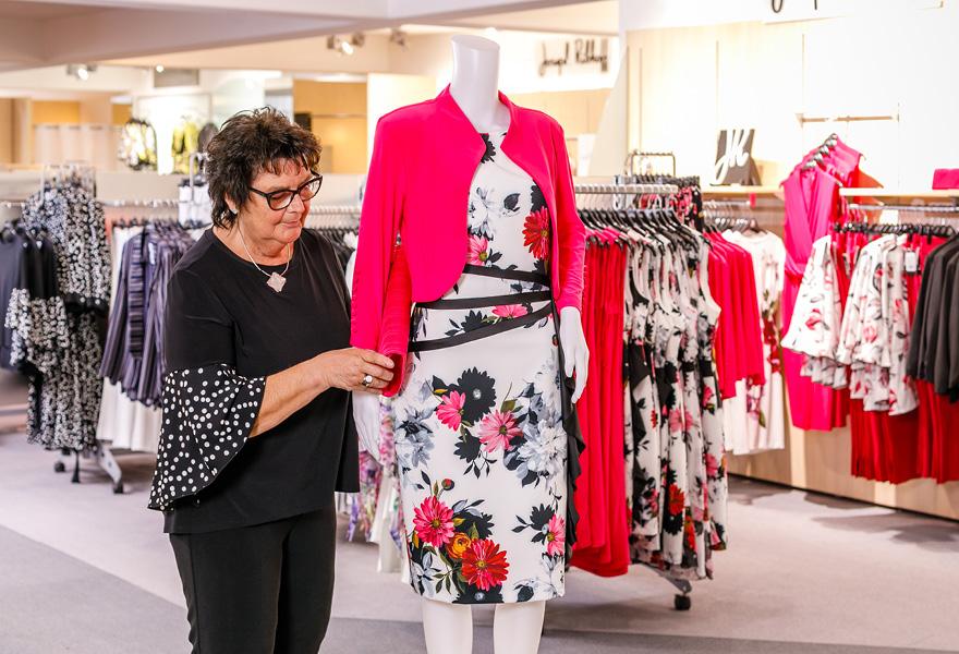 Sortiment Damen Modehaus Brand-Moden bei Frankfurt und Würzburg